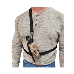 3 IN 1 CAMO BEAR SPRAY CHEST / BELT HOLSTER