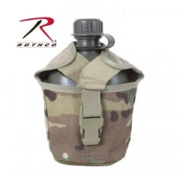 MOLLE COMPATIBLE CANTEEN COVER - MULTICAM