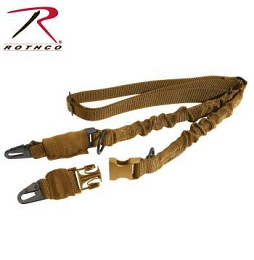 2-POINT TO SINGLE POINT TACTICAL SLING - COYOTE BROWN