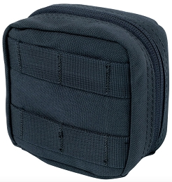 4 x 4 UTILITY POUCH - NAVY BLUE