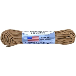 550 PARACORD - 100 FEET - TAN
