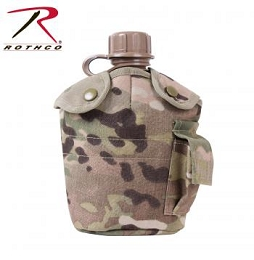 G.I. STYLE MOLLE CANTEEN COVER - MULTICAM
