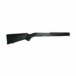 RUBBER OVERMOLDED STOCK - RUGER MINI 14 / 30 - BLACK