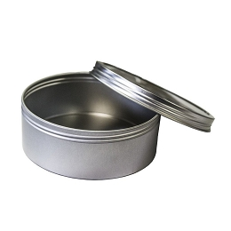 8 OZ ROUND STEEL CONTAINER, SCREW TOP - PATHFINDER