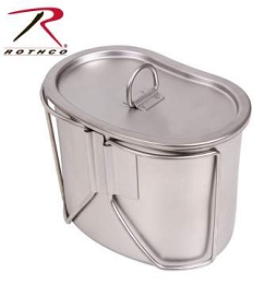 STAINLESS STEEL CANTEEN CUP AND COVER SET
