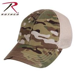 MESH BACK TACTICAL CAP - MULTICAM