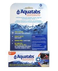AQUATABS - TREATS 1 LITRE - 50 PACK