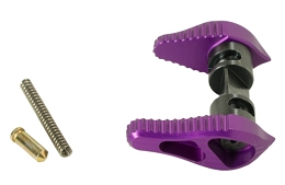 AR ALUMINUM AMBIDEXTROUS SAFETY SELECTOR - PURPLE