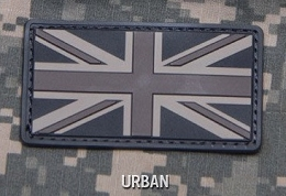 BRITISH FLAG PVC PATCH - URBAN