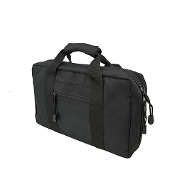 DISCRETE DOUBLE PISTOL CASE - BLACK