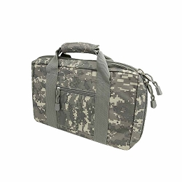 DISCRETE DOUBLE PISTOL CASE - DIGITAL CAMO ACU