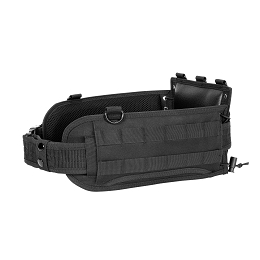BATTLE BELT WITH PISTOL BELT - BLACK
