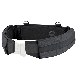 SLIM BATTLE BELT - BLACK