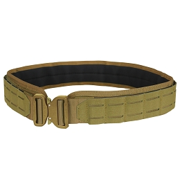 LCS COBRA GUN BELT - COYOTE BROWN