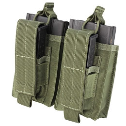 DOUBLE KANGAROO M14 MAG POUCH - OLIVE DRAB