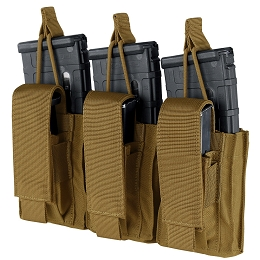 TRIPLE KANGAROO MAG POUCH - GEN II - COYOTE BROWN