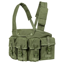 7 POCKET CHEST RIG - OLIVE DRAB