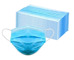 DISPOSABLE PROTECTIVE MASKS - 50 PACK