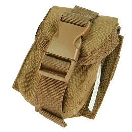 SINGLE FRAG GRENADE POUCH - COYOTE BROWN