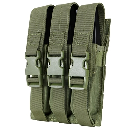 TRIPLE MP5 MAG POUCH - OLIVE DRAB