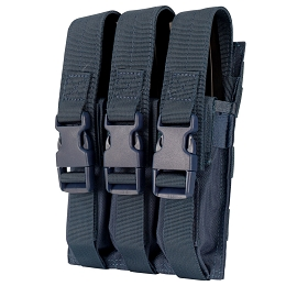 TRIPLE MP5 MAG POUCH - NAVY