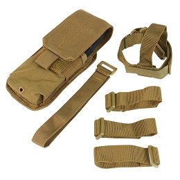 M4 BUTTSTOCK MAG POUCH - COYOTE BROWN