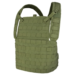 MODULAR CHEST RIG / PLATE CARRIER - OLIVE DRAB