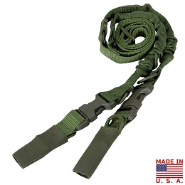 CBT 2 POINT TO SINGLE POINT BUNGEE SLING - OLIVE DRAB