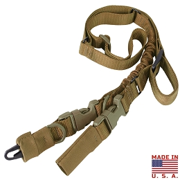 STRYKE SINGLE BUNGEE CONVERSION SLING - COYOTE BROWN