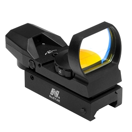 RED DOT REFLEX SIGHT - 4 DIFFERENT RETICLES - WEAVER