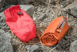 REUSABLE EMERGENCY SLEEPING BAG - ORANGE