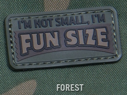 FUN SIZE PVC MORALE PATCH - FOREST