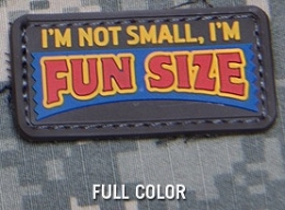 FUN SIZE PVC MORALE PATCH - FULL COLOR