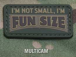 FUN SIZE PVC MORALE PATCH - MULTICAM