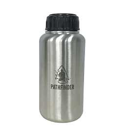 STAINLESS STEEL 32 OZ (1 LITRE) WATER BOTTLE - GEN 3 - PATHFINDER