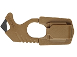 GERBER STRAP CUTTER - COYOTE BROWN - WITH SHEATH