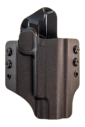OWB KYDEX HOLSTER - 1911 OPERATOR W/ RAILS - RH - BLACK