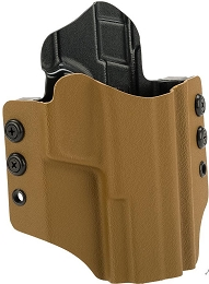 OWB KYDEX HOLSTER - S&W M&P FULL SIZE - RH - COYOTE BROWN
