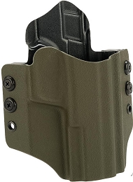 OWB KYDEX HOLSTER - S&W M&P FULL SIZE - RH - OLIVE DRAB