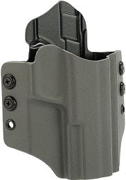 OWB KYDEX HOLSTER - S&W M&P FULL SIZE - RH - WOLF GREY