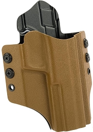 OWB KYDEX HOLSTER - S&W M&P EXTENDED - RH - COYOTE BROWN