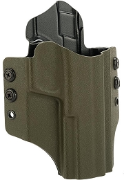 OWB KYDEX HOLSTER - S&W M&P EXTENDED - RH - OLIVE DRAB