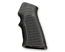G10 EXTREME SERIES GRIP - AR AND OTHERS - FINGER GROOVE - PIRANHA - BLACK