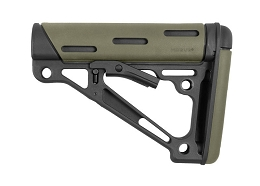 OVERMOLDED COLLAPSIBLE BUTTSTOCK - AR - COMMERCIAL - OD GREEN