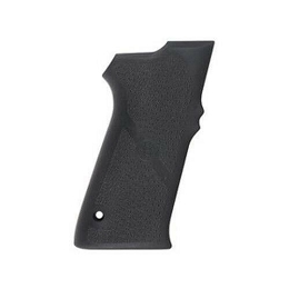 RUBBER PISTOL GRIP - S&W 3RD GEN FULL SIZE - BLACK