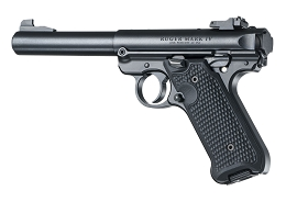 G10 EXTREME SERIES GRIP - RUGER MK IV - PIRANHA - BLACK