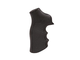 G10 EXTREME SERIES GRIP - RUGER GP100 & SUPER REDHAWK - FINGER GROOVES - PIRANHA - BLACK