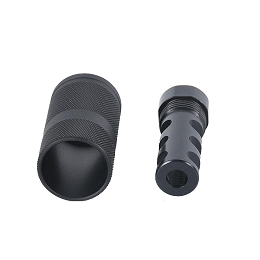 5.56 / .223 LIGHTWEIGHT BLAST FINDER MUZZLE BRAKE - 1/2