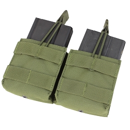 DOUBLE M14 OPEN TOP MAG POUCH - OLIVE DRAB