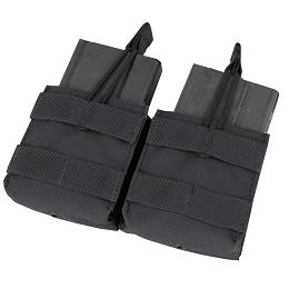 DOUBLE M14 OPEN TOP MAG POUCH - BLACK